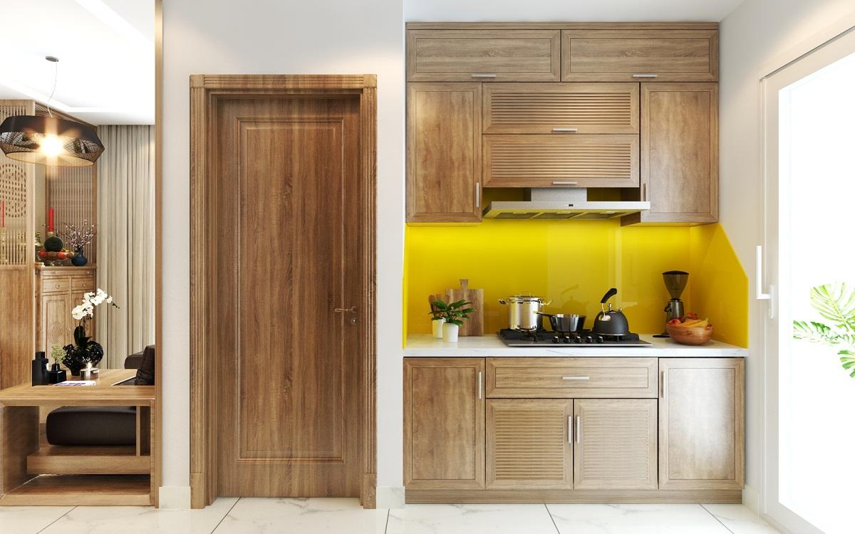 Thiết Kế Nội Thất Phòng Khách và Phòng Bếp