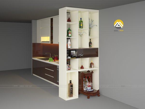Tủ Bếp Acrylic Hiện Đại