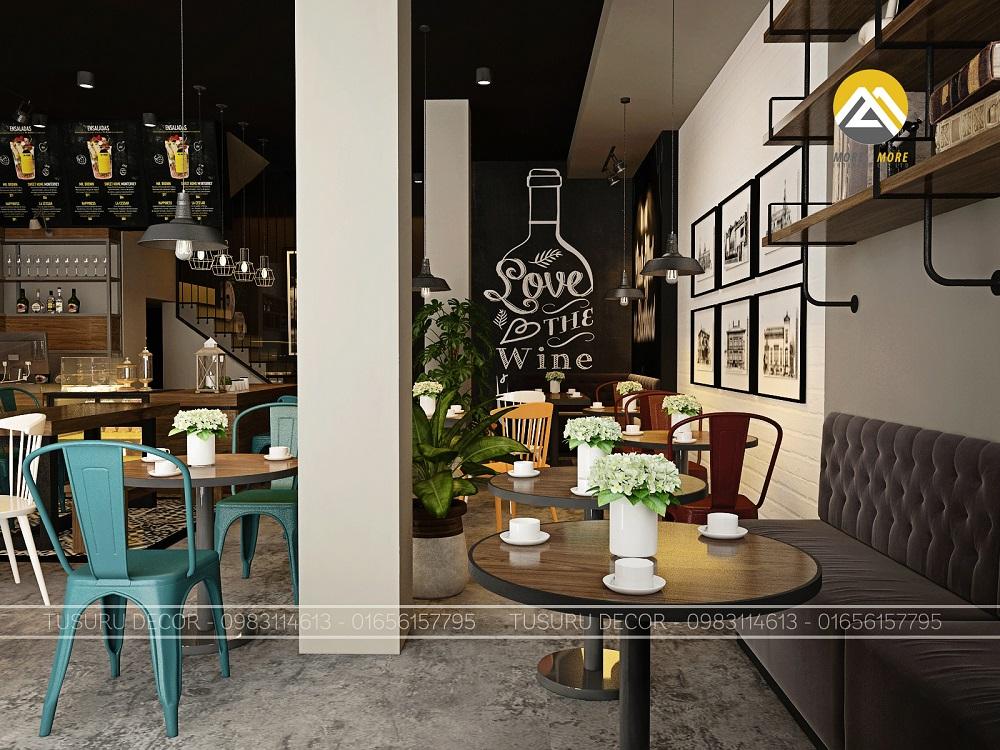 Thiết Kế Nội Thất Quán Cafe Đẹp