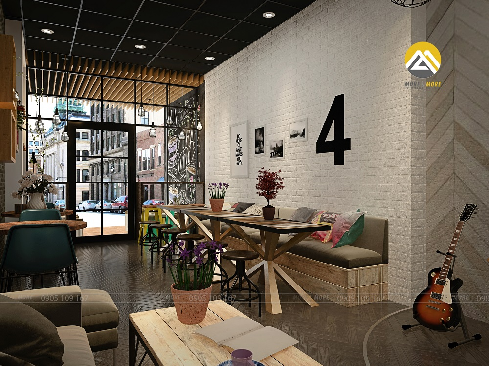 Thiết Kế Nội Thất Quán Cafe Quận 1