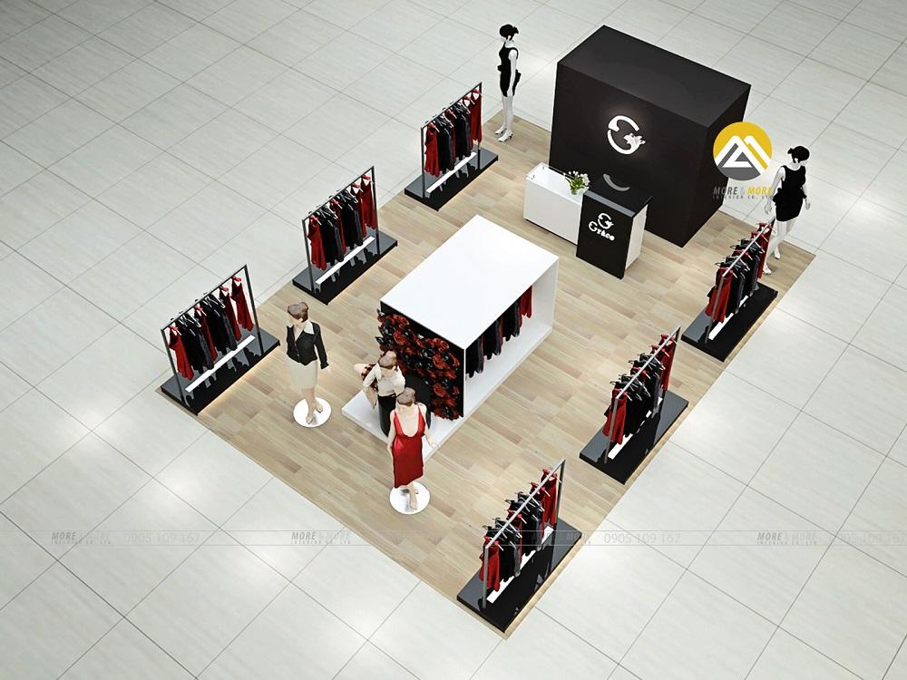 Thiết Kế Nội Thất Showroom Thời Trang Grace Vũng Tàu