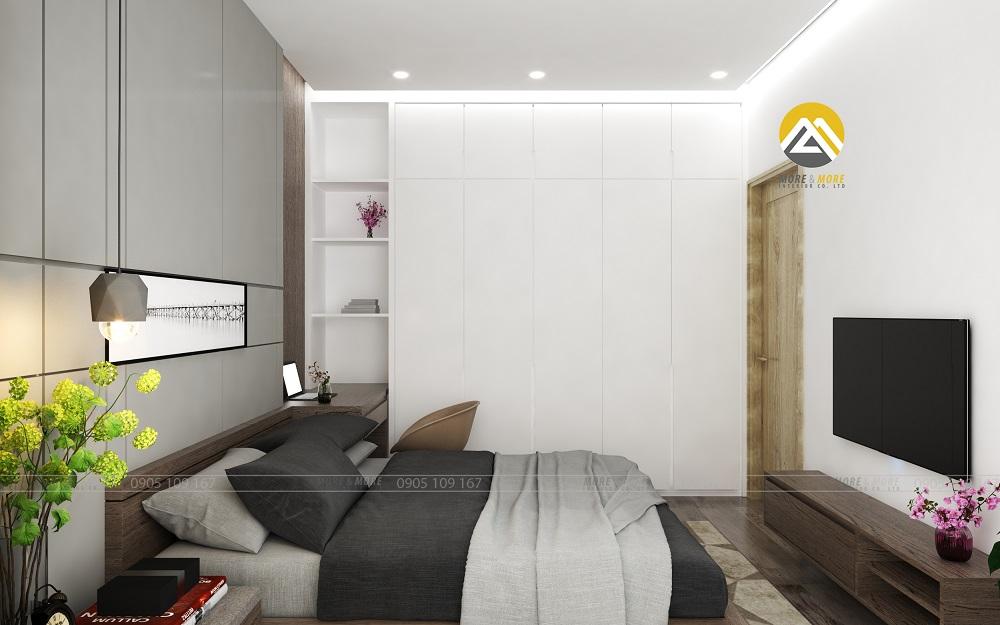 Thiết kế nội thất phòng Ngủ Chủ Nhà