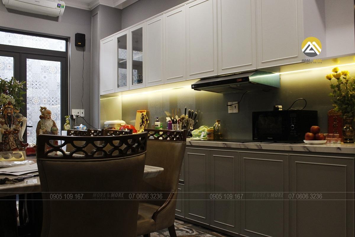 Thiết kế thi công nội thất biệt thự Bình Tân