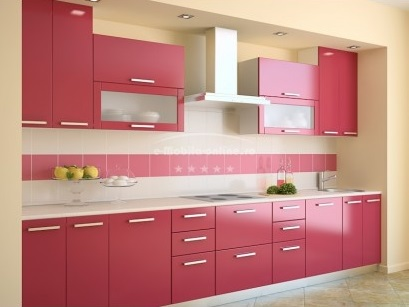 Tủ bếp sử dụng MDF chống ẩm phủ sơn 2k