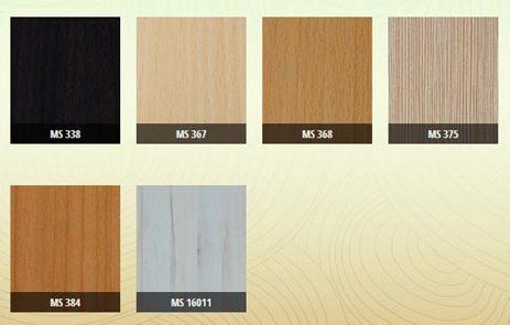 Bảng màu gỗ công nghiệp MDF