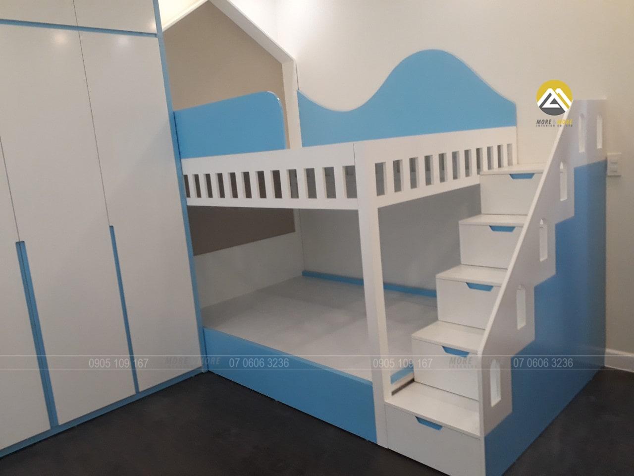 Thi Công Nội Thất Phòng Ngủ Cho Bé