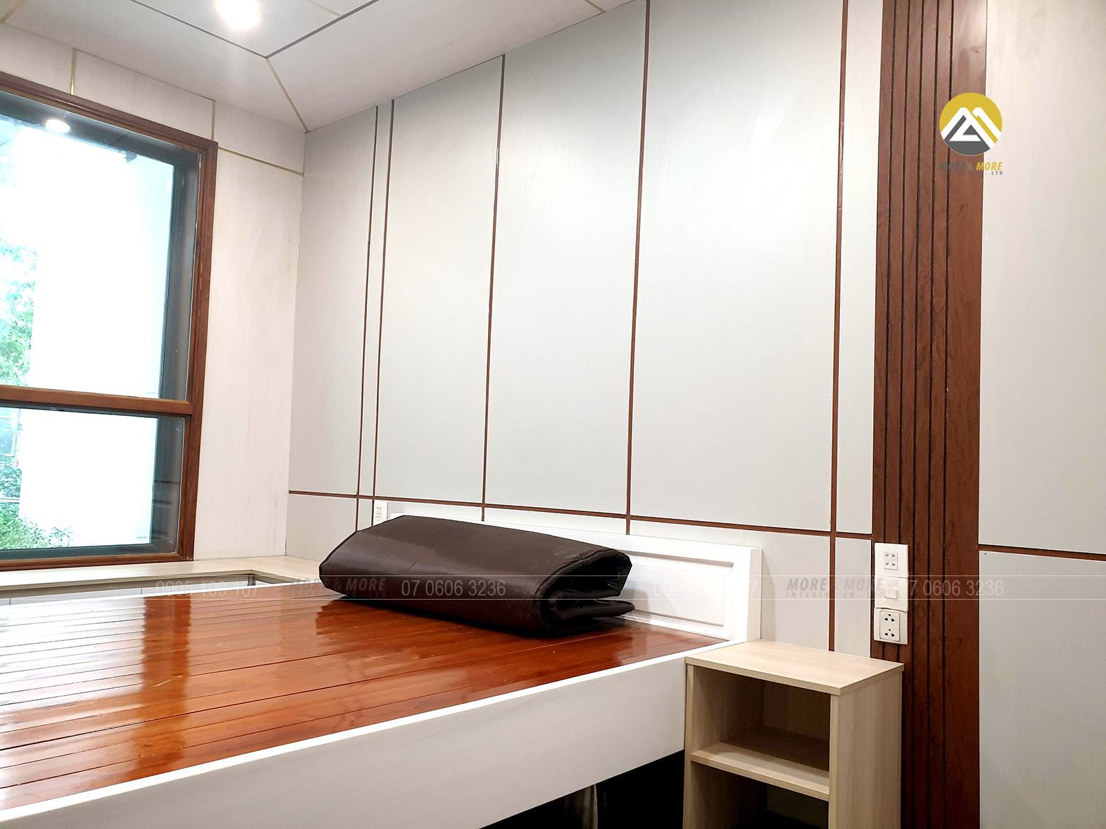Nội thất phòng ngủ tại căn hộ Hà Đô Quận 10