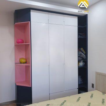 Tủ áo MDF Chống Ẩm Phủ Sơn 2k