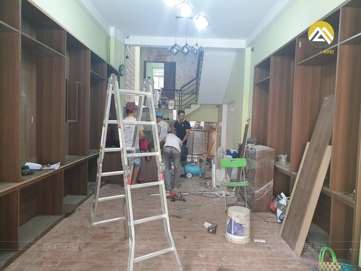 Dự Án Thi Công Nội Thất Showroom Yến Sào Tại Khu Tên Lửa, Bình Tân