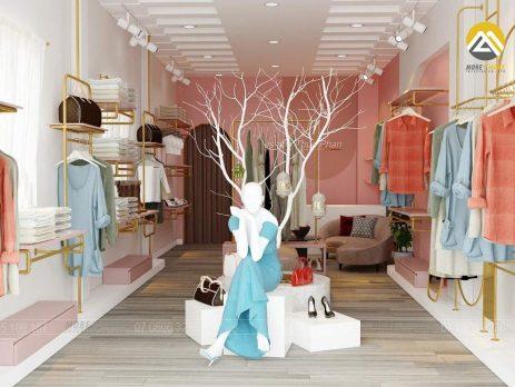 Thiết Kế Nội Thất Shop Thời Trang Tại TPHCM