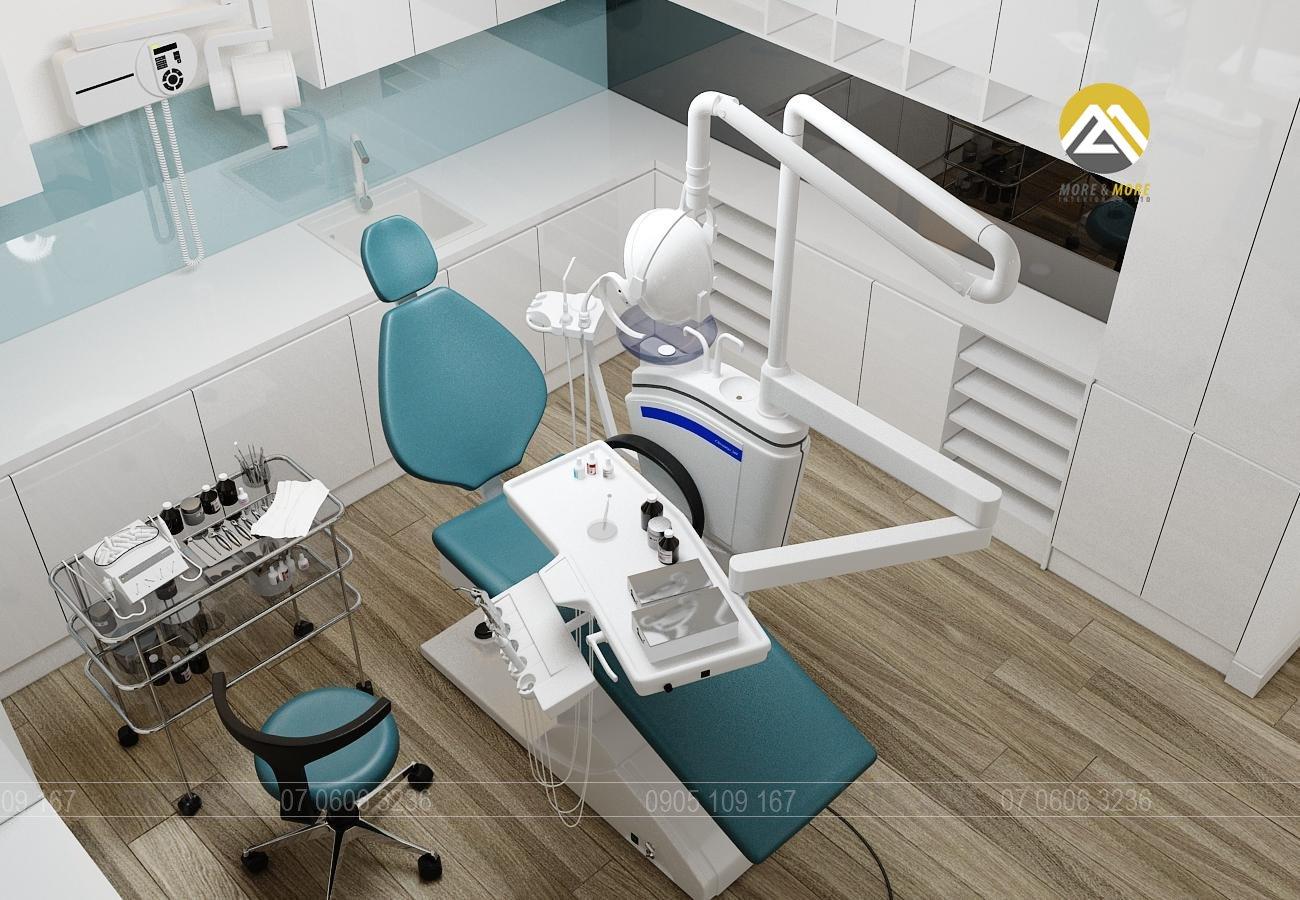 Thiết Kế Nội Thất Phòng Khám Răng Tại TPHCM